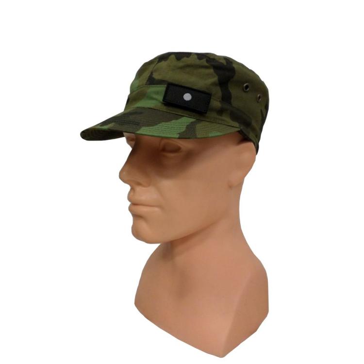 Hodnostní nášivka na čepici, černý podklad