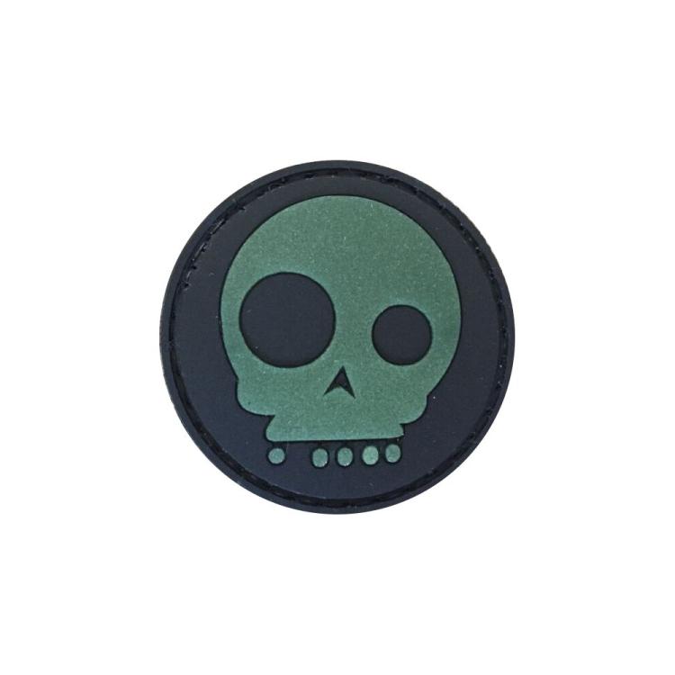 PVC nášivka MediEvil Skull, svítící