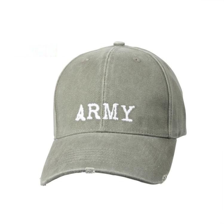Kšiltovka Deluxe Low Profile Army, olivová, Rothco - Kšiltovka Rothco Deluxe Low Profile Army, olivová