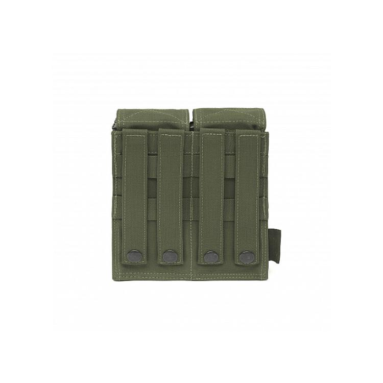 Dvojsumka na 4 zásobníky M4/5.56, VELCRO, Warrior - Dvojsumka na 4 zásobníky M4/5.56, VELCRO, Warrior