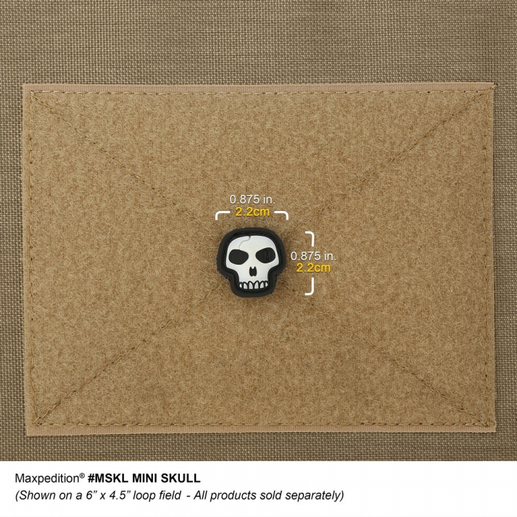 Nášivka Maxpedition Mini Skull