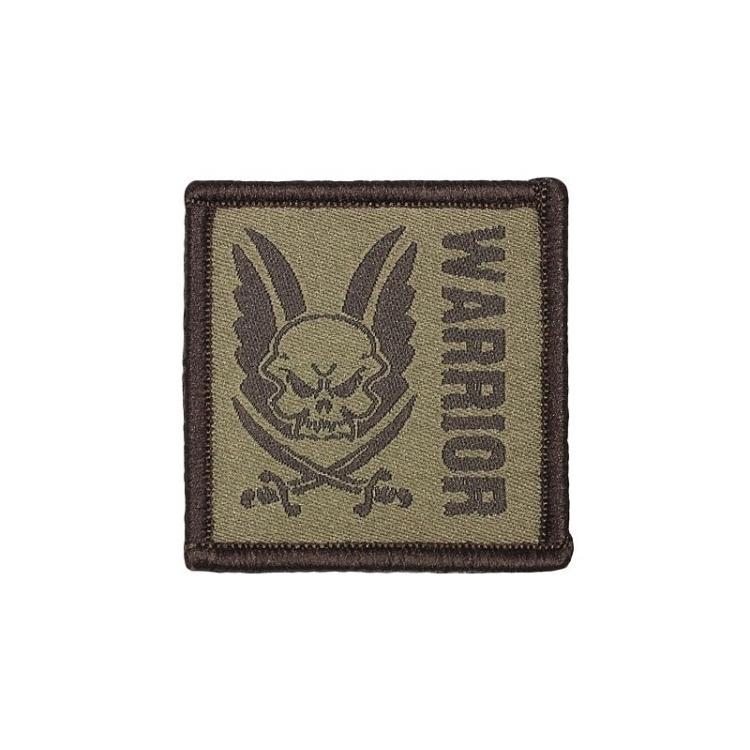 Nášivka Warrior čtvercová - Nášivka Warrior čtvercová
