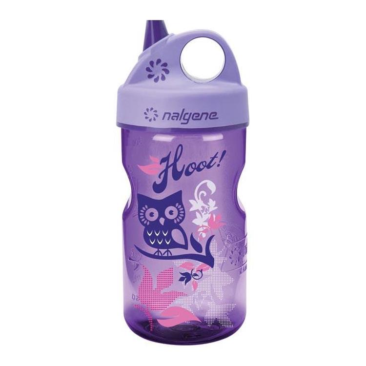 Kojenecká lahev Grip'n Gulp™, 350 ml, fialová, Nalgene - Kojenecká lahev Nalgene Grip'n Gulp™, 350 ml, fialová