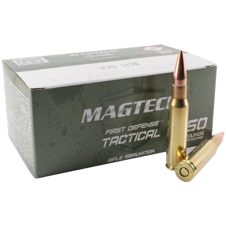 Náboje Magtech .308 Winchester, FMJ, 9,72g, 50 ks