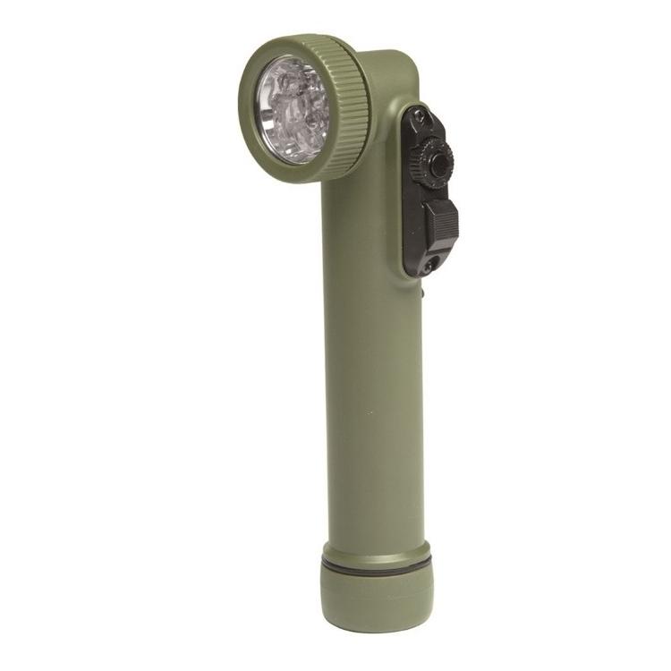 Army svítilna 6 LED, 4 barvy, olivová, Mil-Tec