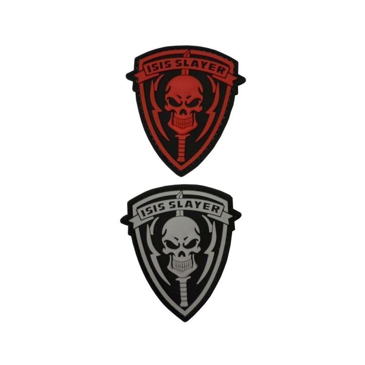 PVC nášivka ISIS SLAYER, Punisher