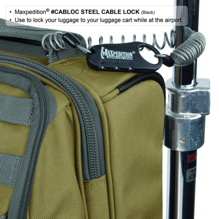 Zámek s kombinací Lock, Maxpedition