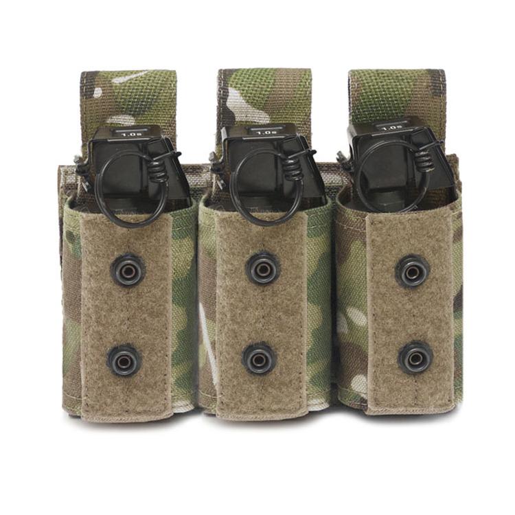 Sumka na tři granáty 40 mm, suchý zip, Warrior - Sumka na tři granáty 40 mm, suchý zip, Warrior