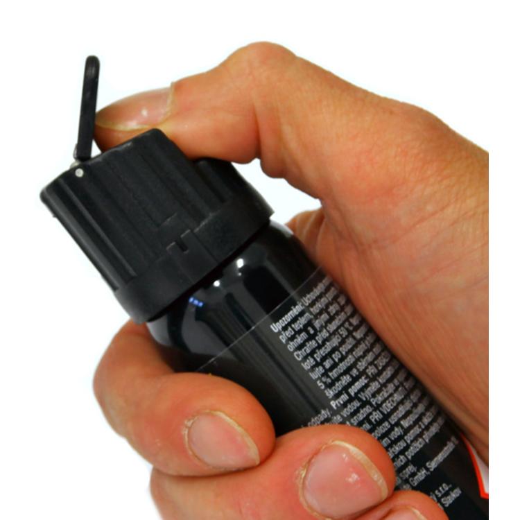 Pěnový pepřový sprej STOPER 2 s klipem 40 ml, A1 Security