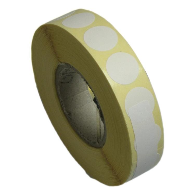 Zálepky na terč bílé, 16 mm, 2000 ks
