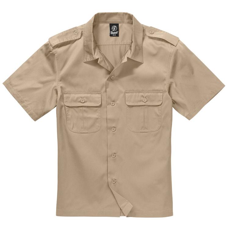 Pánská US košile, krátký rukáv, Brandit
