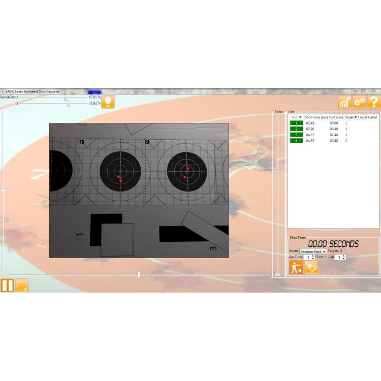 Kompletní tréninková sada L.A.S.R. Range, SureStrike Cartridge + Software, Laser Ammo