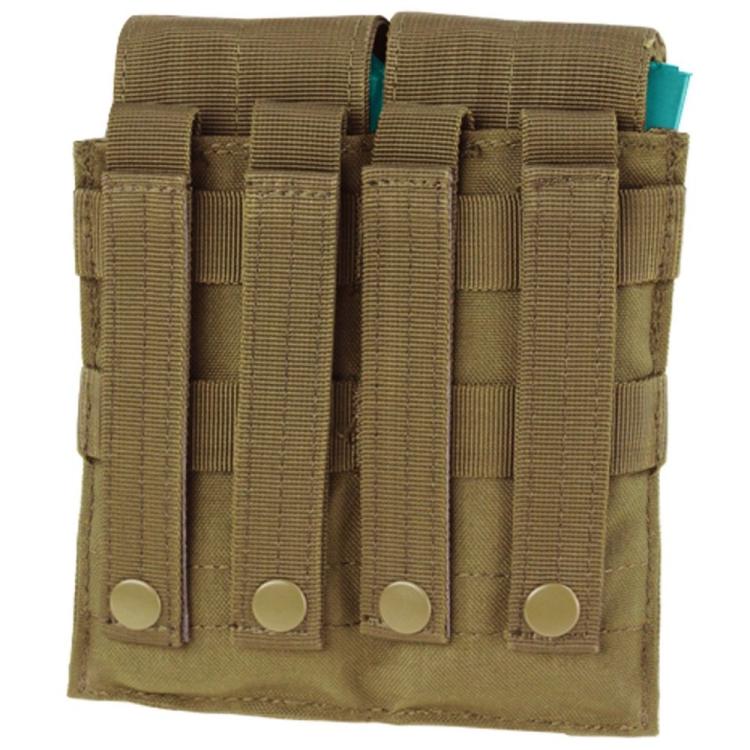 MOLLE sumka na 4 zásobníky M4/M16, suchý zip, Condor - MOLLE sumka na 4 zásobníky M4/M16, suchý zip, Condor