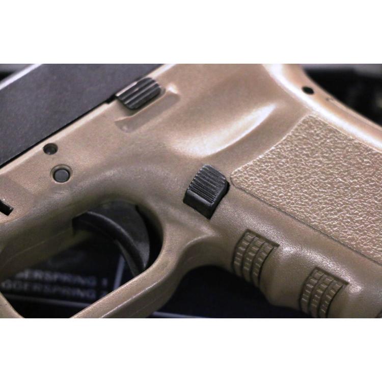 Vypouštěč zásobníku pro Glock Gen 3, oválný, delší