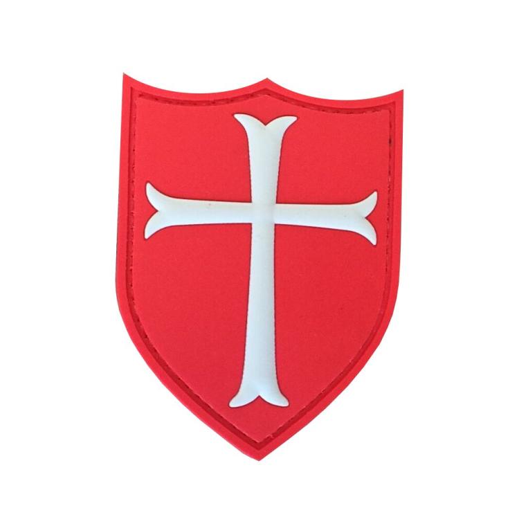 PVC nášivka Crusader's Cross
