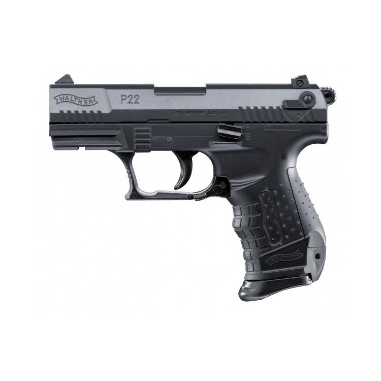 Airsoft pistole Walther P22 černá, manuální