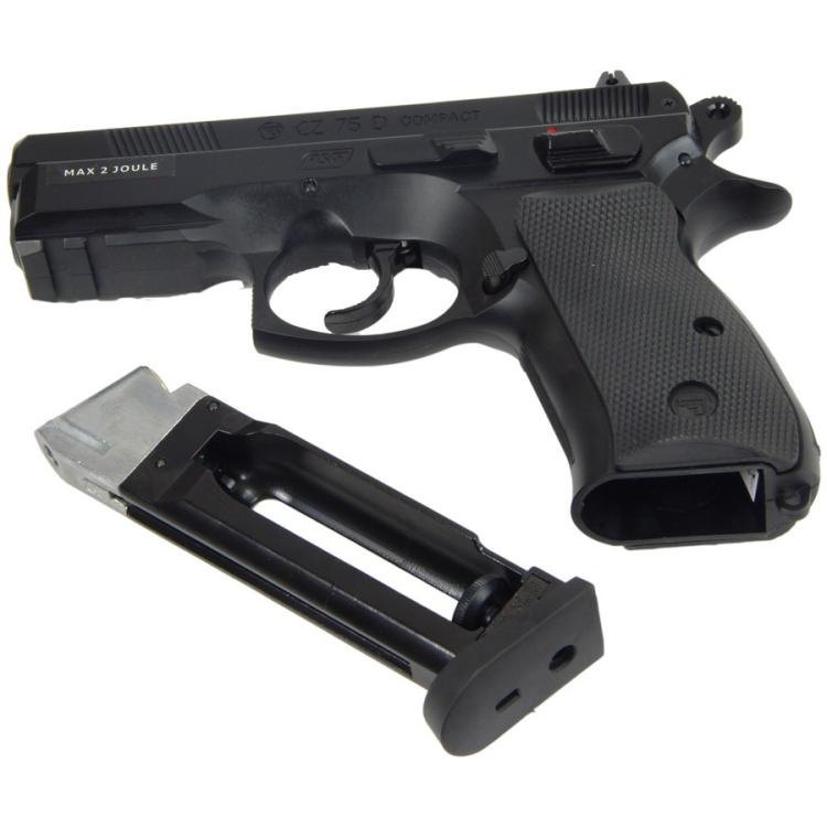 Airsoftová pistole CZ 75D, CO2