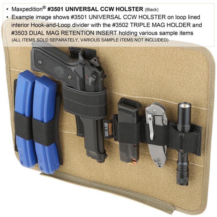 CCW pouzdro na zbraň, Maxpedition