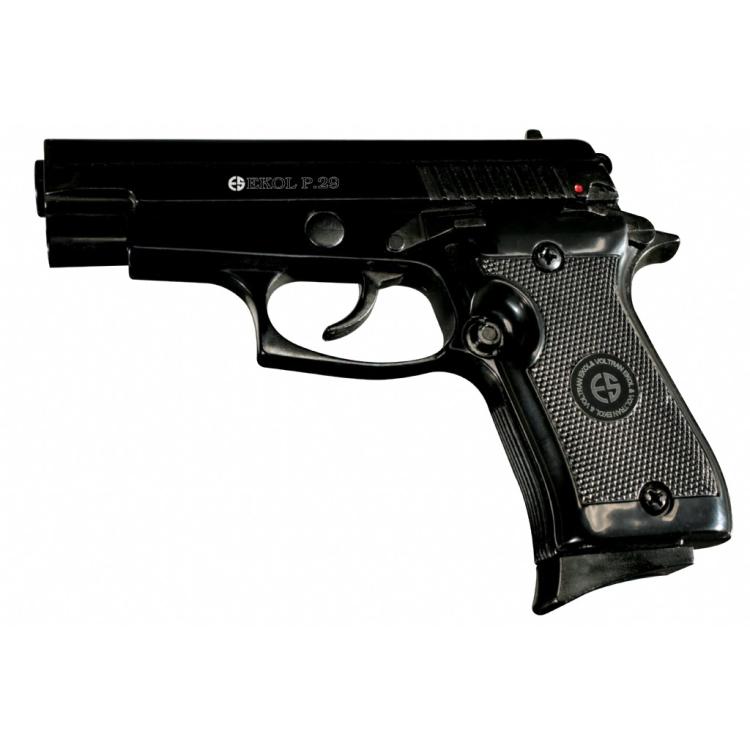 Plynová pistole Ekol P 29 černá, cal. 9mm P.A.Knall