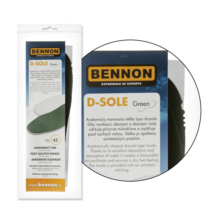 Vložky do bot Bennon Drysole - Vložky do bot Bennon Drysole