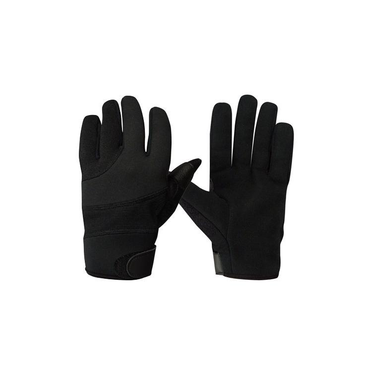Kevlarové rukavice Street Shield, černé, Rothco