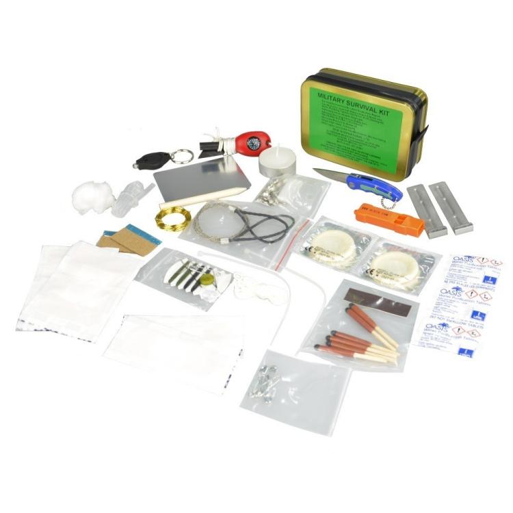 Krabička poslední záchrany Military Survival Kit, BCB