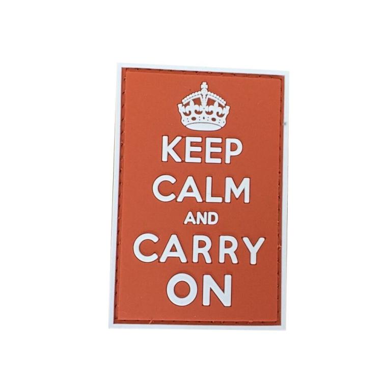 PVC nášivka Keep Calm