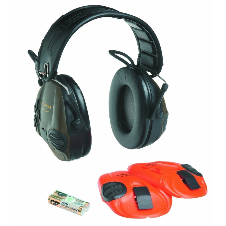 Elektronická sluchátka Peltor SportTac