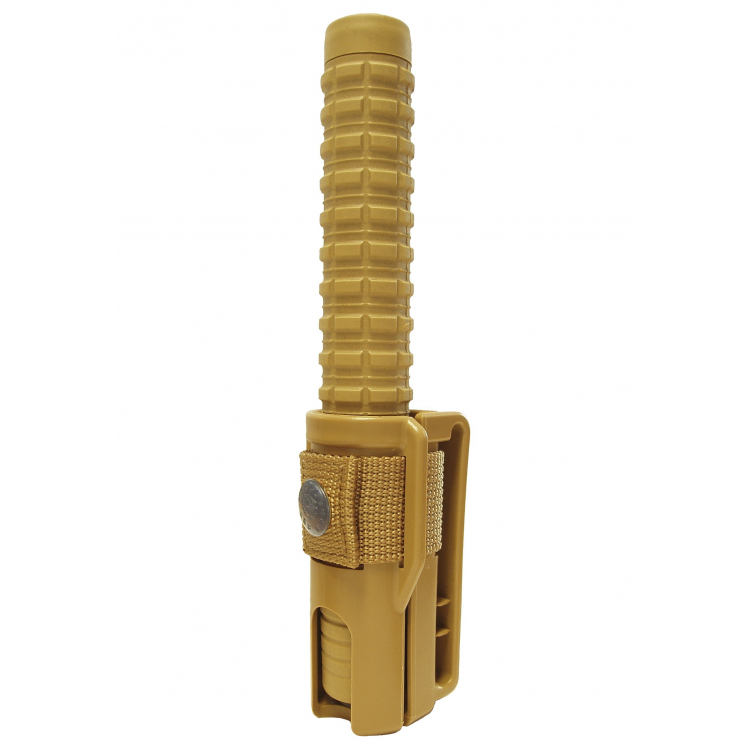 Teleskopický obušek ESP kalený, písková protiskluzová rukojeť - Teleskopický obušek ESP kalený, písková protiskluzová rukojeť
