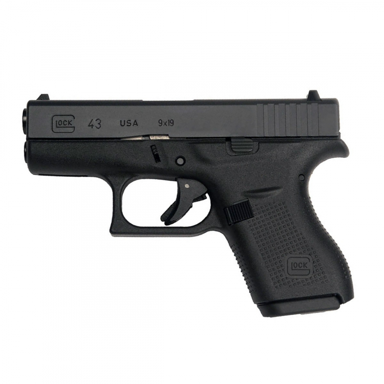 Pistole Glock 43, 9 mm Luger