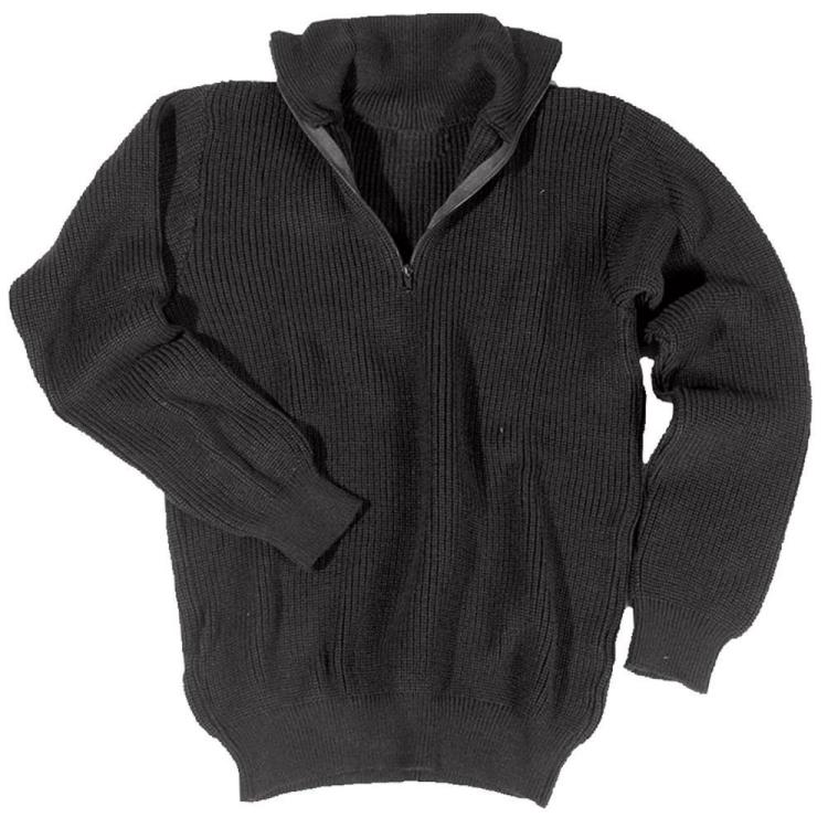 Pánský pletený svetr Troyer Acryl, Mil-tec - Pánský pletený svetr Troyer Acryl, Mil-tec