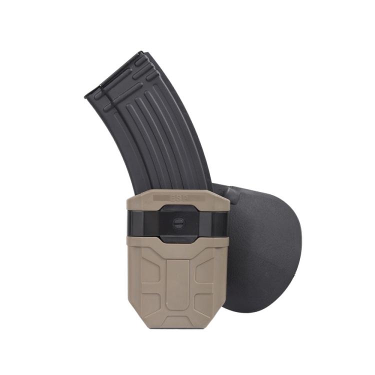 Plastové pouzdro pro zásobník do zbraní AR15/AK-47/AK-74 (7.62 × 39 mm), pádlo Fobus, ESP
