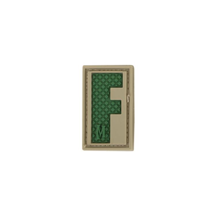 Nášivka Maxpedition Letter F