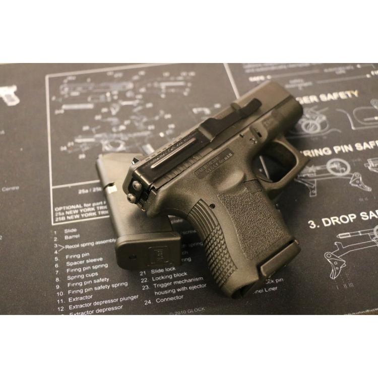 Clipdraw klip pro skryté nošení pistole Glock