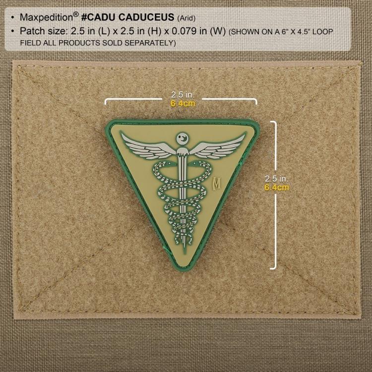 Nášivka Maxpedition Caduceus Patch