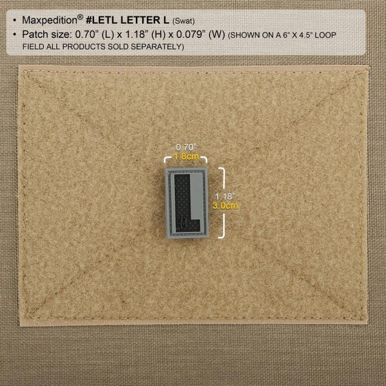 Nášivka Maxpedition Letter L