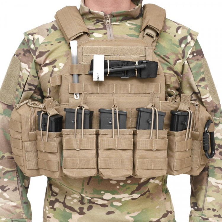 Nosič plátů DCS Elite Ops se sumkami, Warrior - Nosič plátů DCS Elite Ops se sumkami, Warrior