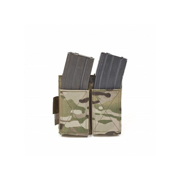 Dvojitá pružná sumka na zásobníky AR15 a AK/SA58, Warrior - Dvojitá pružná sumka na zásobníky AR15 a AK/SA58, Warrior