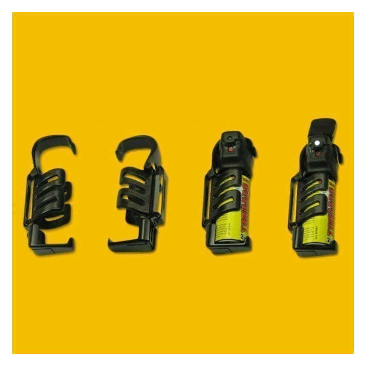 Plastové pouzdro pro obranný sprej ESP Tornado, s klipsem - Plastové pouzdro pro obranný sprej ESP Tornado, s klipsem