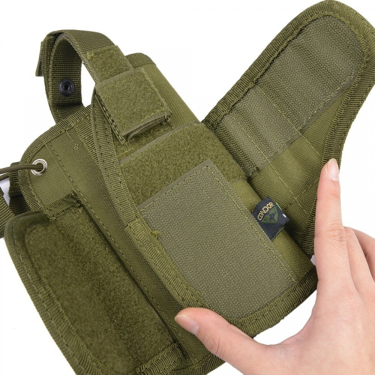 Horizontální MOLLE pistolové pouzdro, Condor - Horizontální MOLLE pistolové pouzdro, Condor