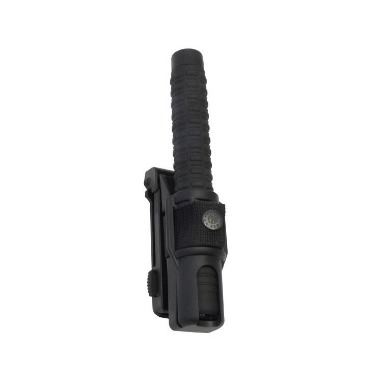 Rotační plastové pouzdro pro teleskopický obušek, krátké, M.O.L.L.E. - Rotační plastové pouzdro pro teleskopický obušek, krátké, molle
