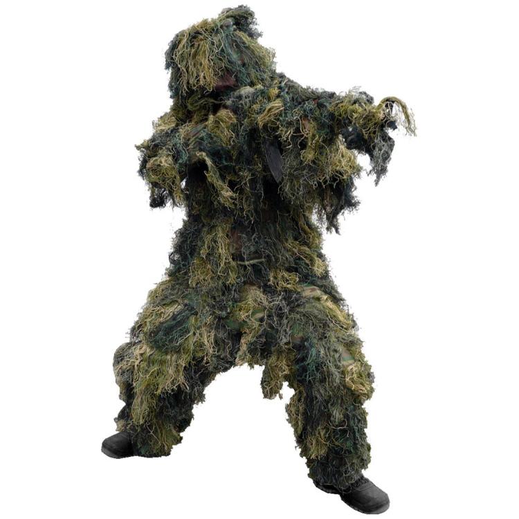 Maskovací oblek hejkal Anti Fire, woodland, Mil-Tec