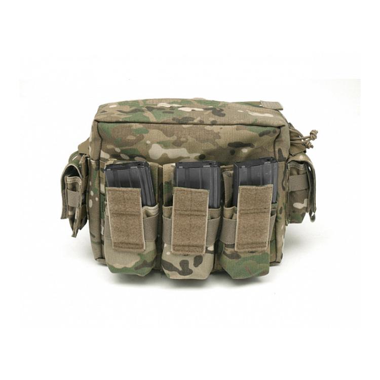 Sumka M.O.L.L.E. na 2 zásobníky M4 s klopou na suchý zip, Warrior - Sumka M.O.L.L.E. na 2 zásobníky M4 s klopou na suchý zip, Warrior