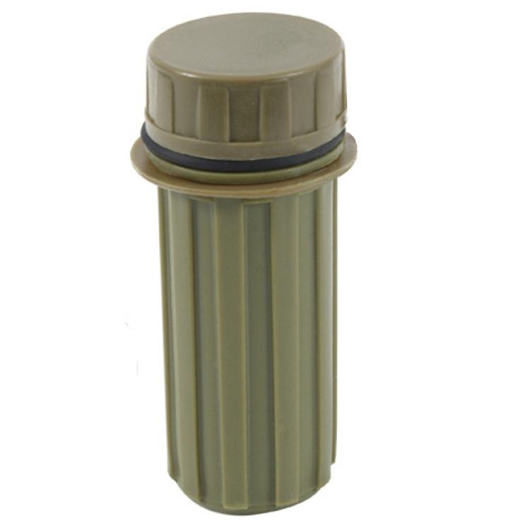Vodotěsné pouzdro na zápalky, olivové, Mil-Tec