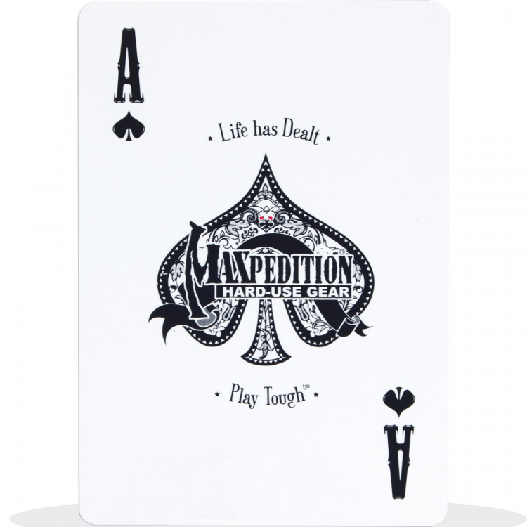Outdoorové hrací karty Maxpedition Tactical Field Deck All Weather Playing Cards