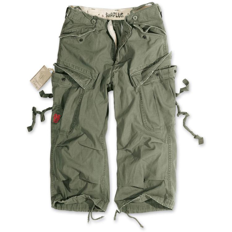 Pánské tříčtvrteční kalhoty Engineer Vintage, Surplus - Pánské tříčtvrteční kalhoty Surplus Engineer Vintage