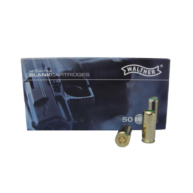 Startovací náboje pro plynovou pistoli 9 mm P.A.K. Umarex, 50ks