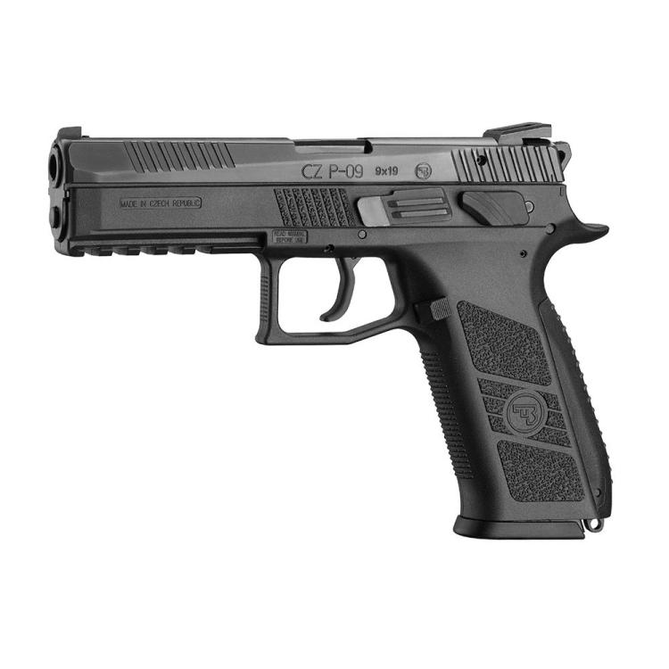 Samonabíjecí pistole CZ P-09, cal. 9x19, oba ovladače, CZUB