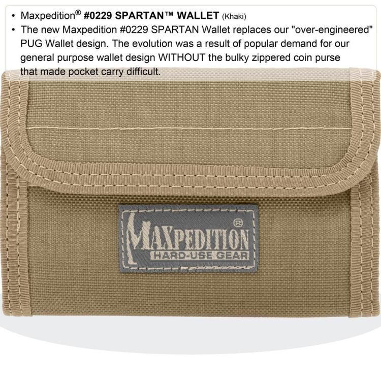 Peněženka Spartan™, Maxpedition