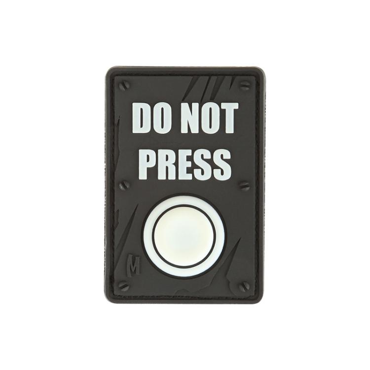 Nášivka Do Not Press, Maxpedition